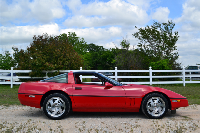 1990 Chevrolet Corvette ZR 1 March Auctions Side 660x438