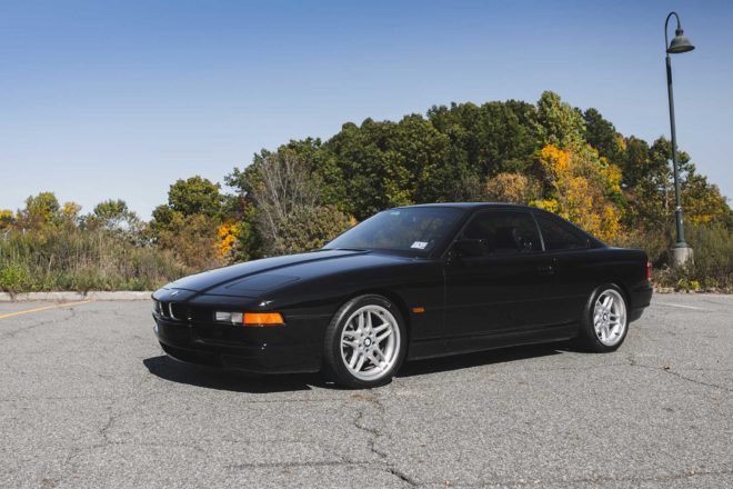 1994 BMW 850CSi Front Three Quarter 01 660x440