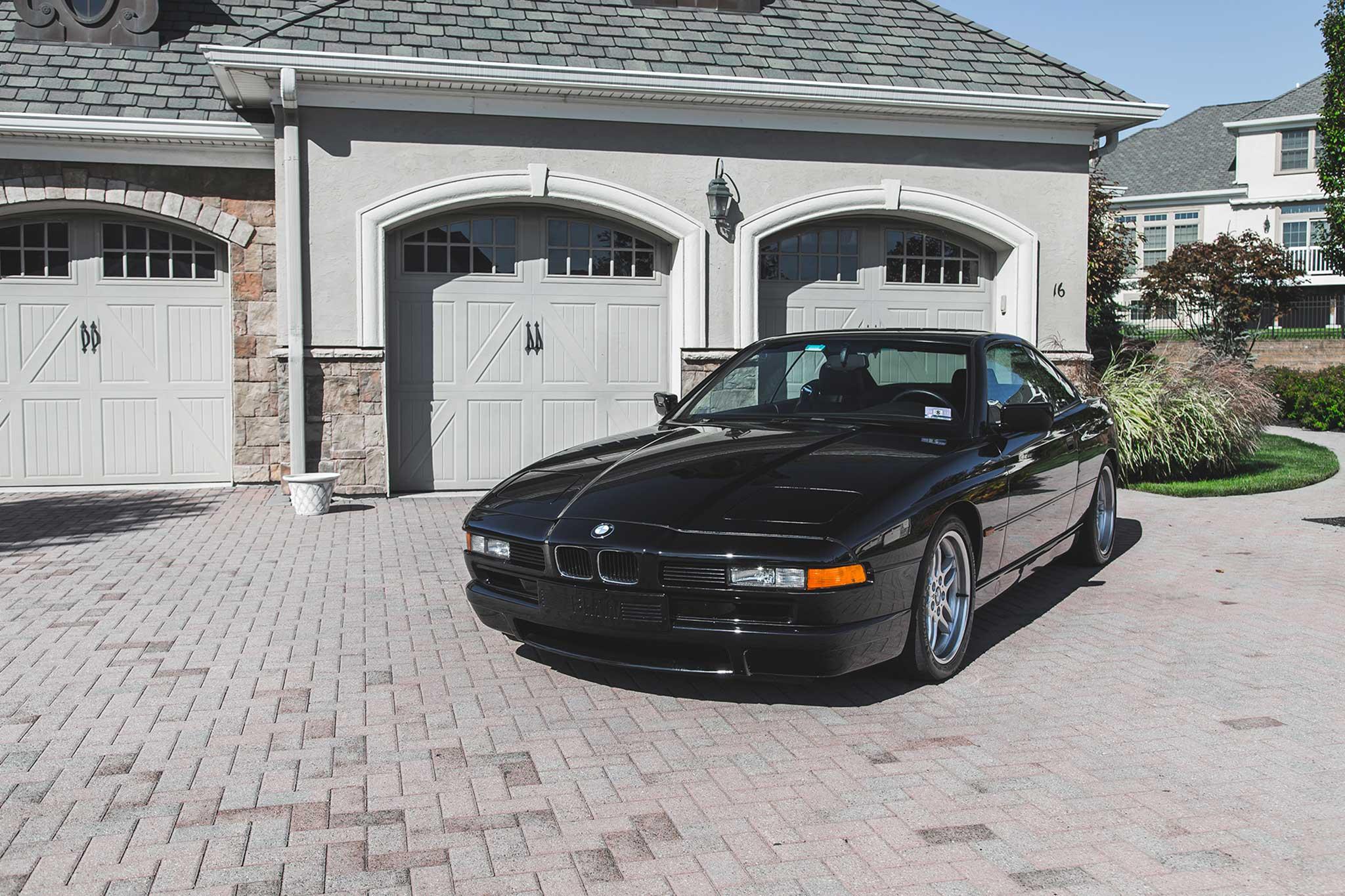 1994 BMW 850CSi Front Three Quarter 02
