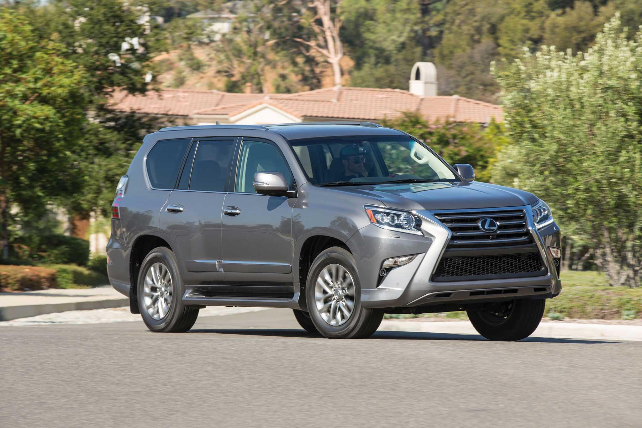quarter reviews gx and rear abtl luxury suv autobytel com design test road lexus review