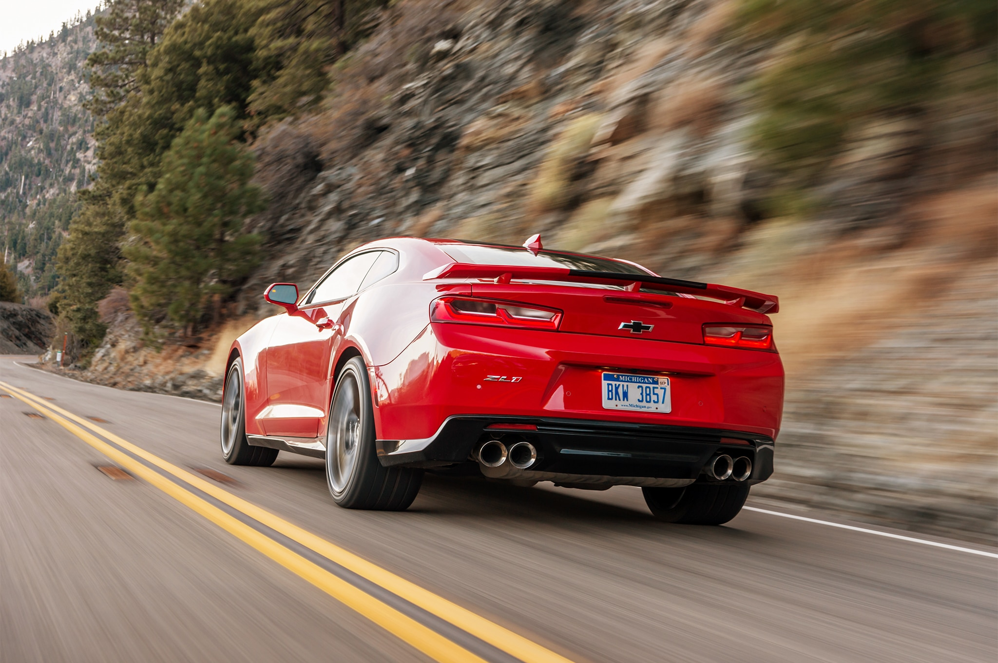 2017 Chevrolet Camaro Zl1 Coupe First Drive Automobile