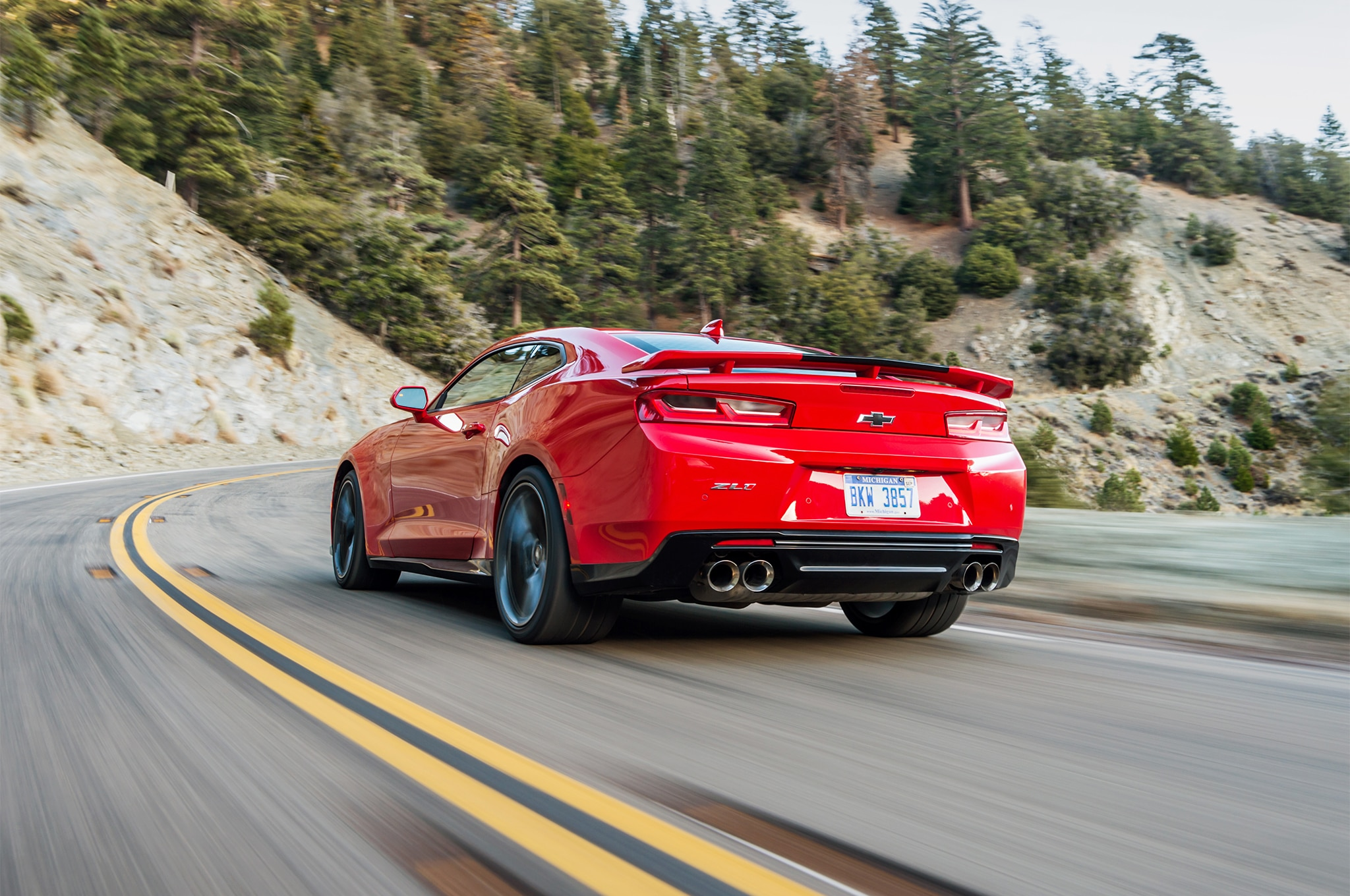 500 Miles In The 2017 Chevrolet Camaro Zl1 Convertible And