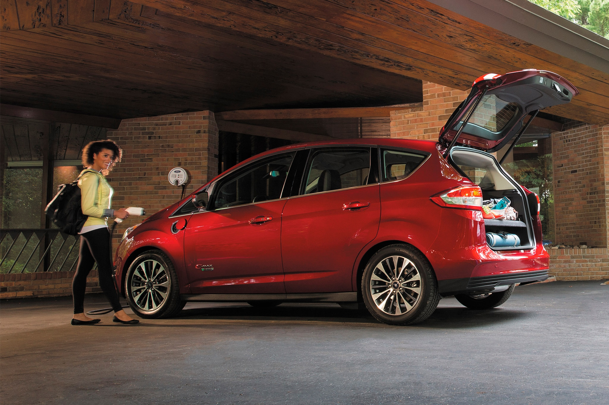 2017 ford cmax receives new titanium trim lower starting