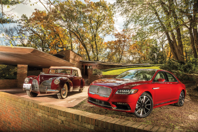 2017 Lincoln Continental And 1940 Lincoln Zephyr Continental Cabriolet 01 660x440