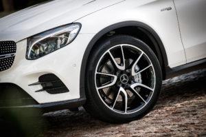 2017 Mercedes AMG GLC43 Coupe wheel