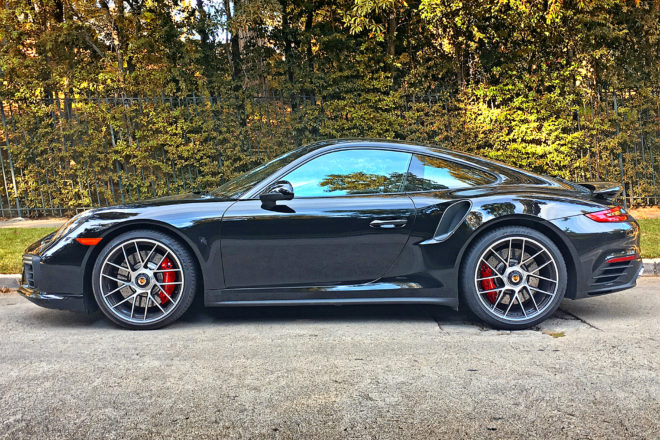 2017 porsche 911 turbo specifications