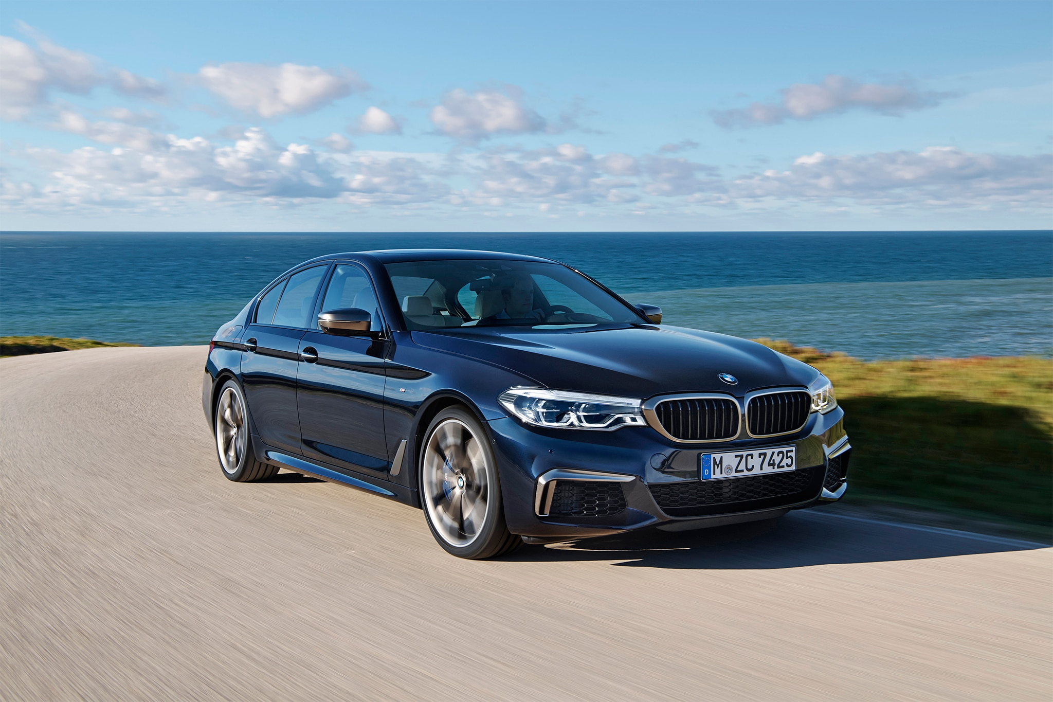 bmw launches 530e iperformance m550i xdrive for 2018 automobile magazine. Black Bedroom Furniture Sets. Home Design Ideas