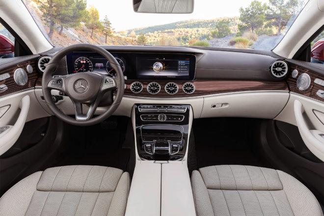 2018 Mercedes Benz E Class Coupe cabin 01