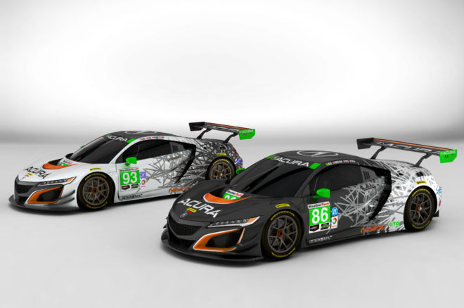 Acura NSX GT3 Michael Shank Racing Liveries 01 660x438