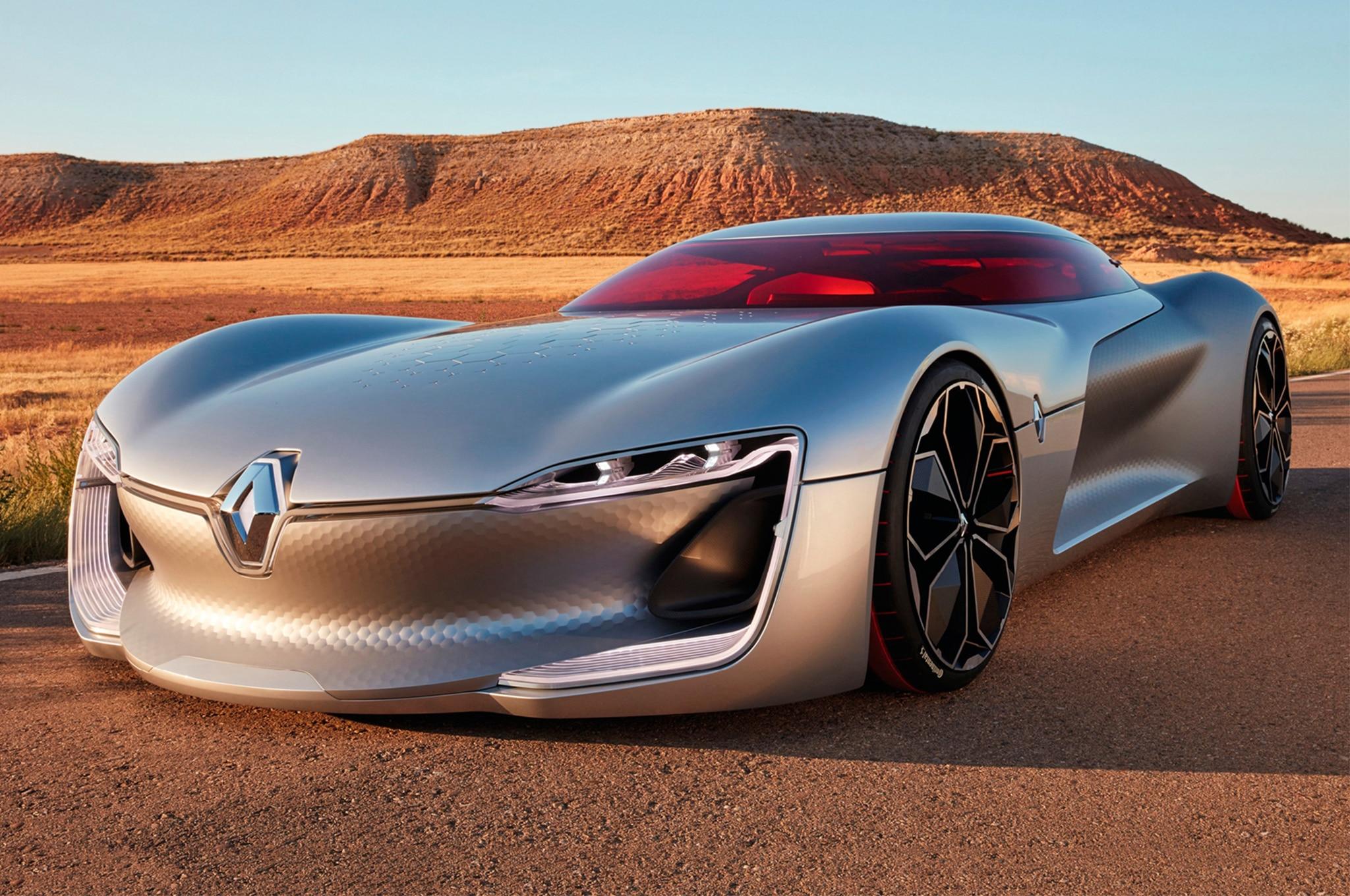 By Design Renault Trezor Concept