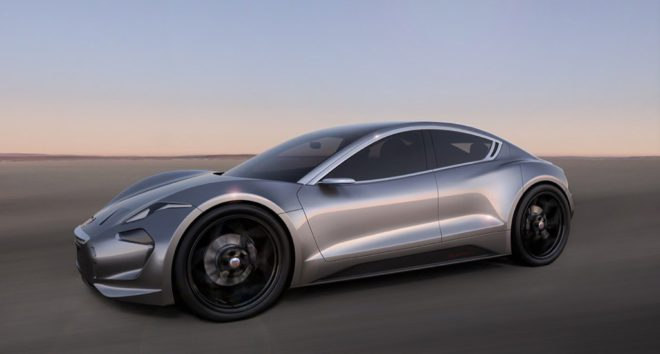 Fisker Inc EMotion side