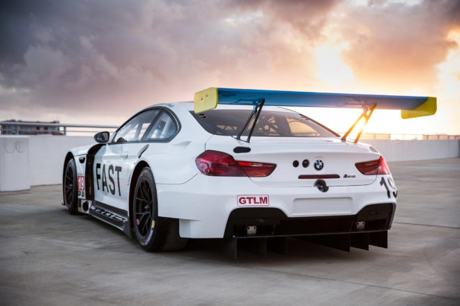 John Baldessari BMW M6 GTLM rear