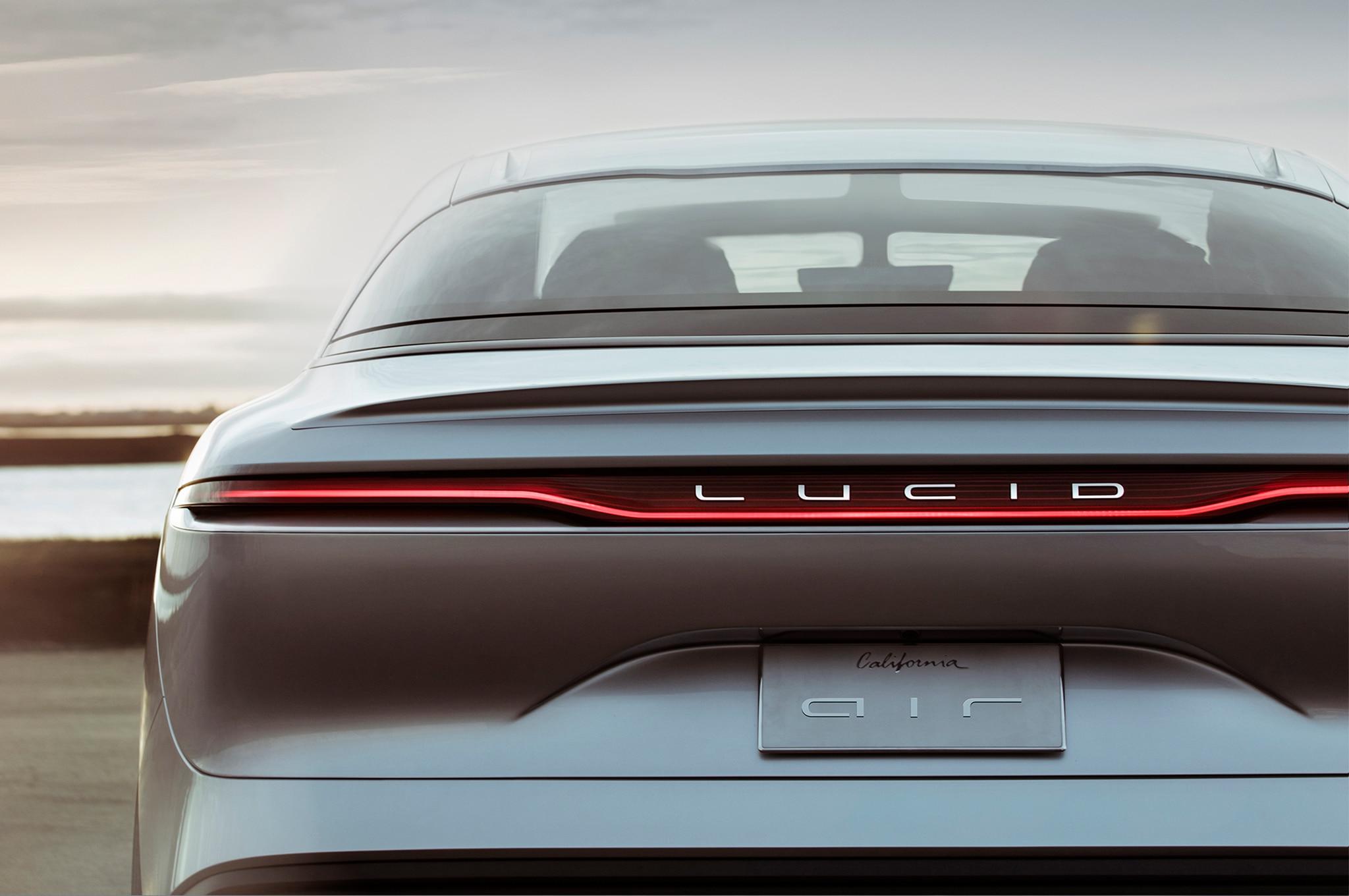 Lucid Motors Air Sedan to Offer Up to 400 Miles of Range ...