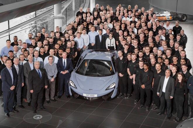 McLaren 10000 group