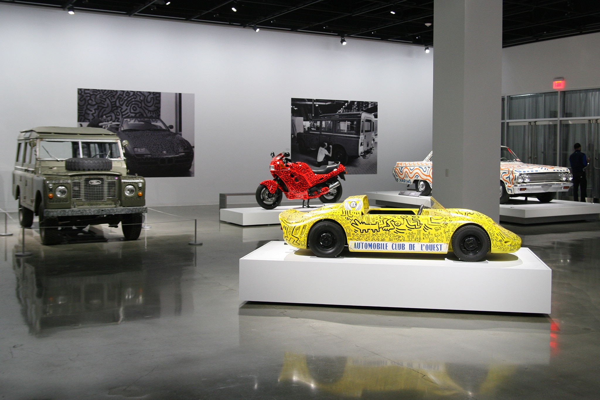 Petersen Automotive Museum Keith Haring Exhibit