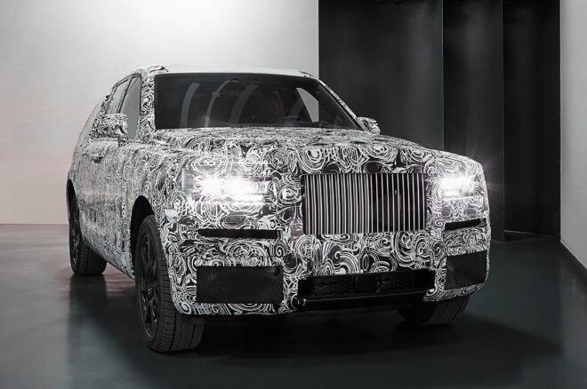 Rolls Royce Cullinan Front Studio Shot 660x438