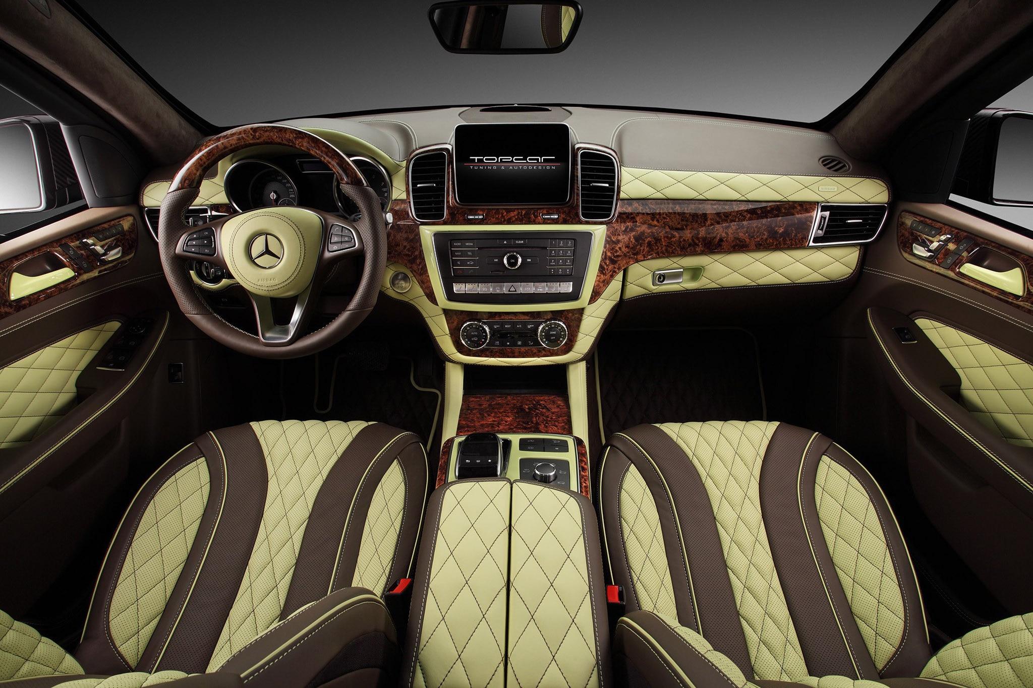 TOPCAR Mercedes Benz GLE Guard Inferno Interior