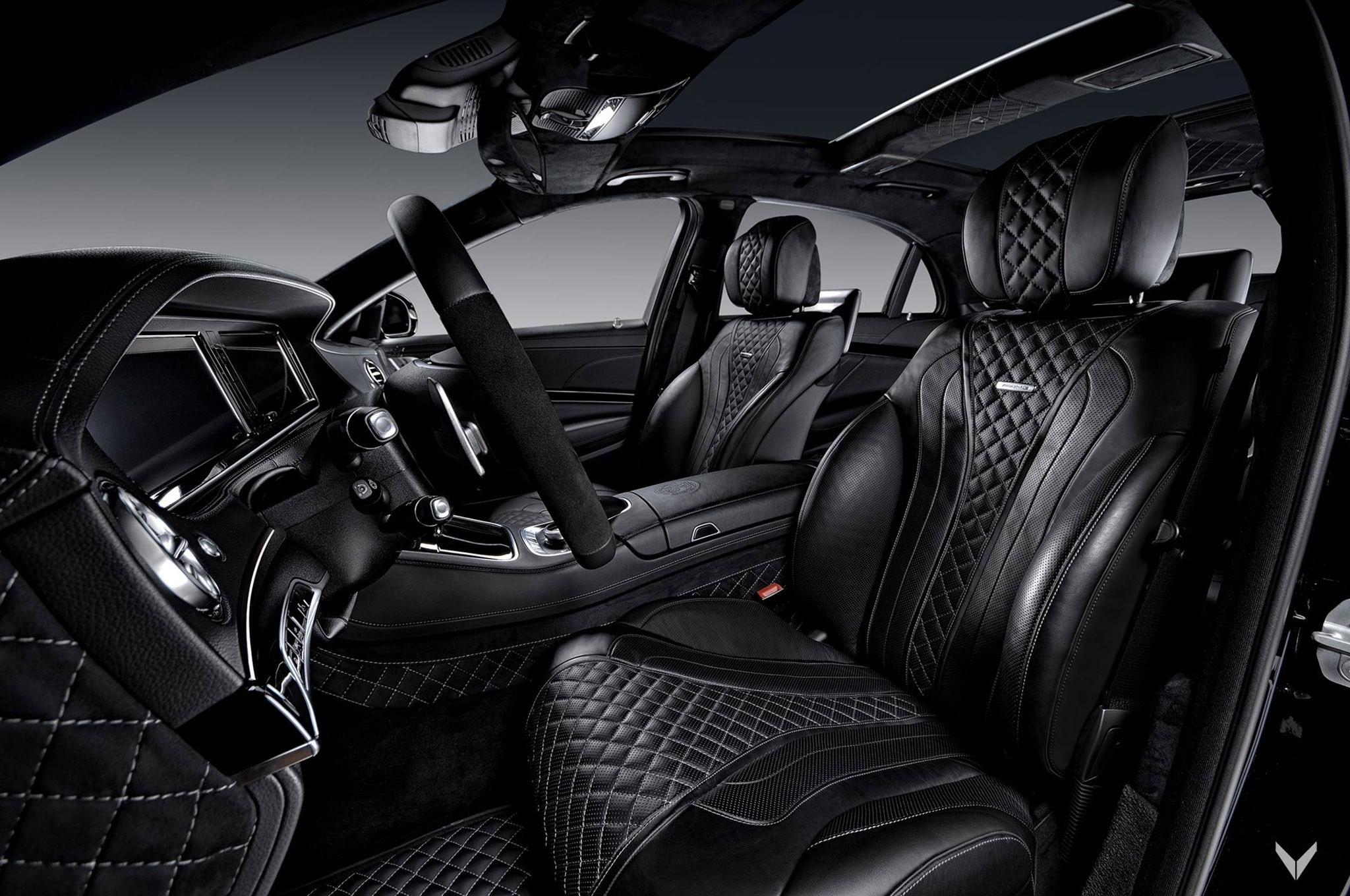 Vilner Mercedes S63 AMG Front Seats