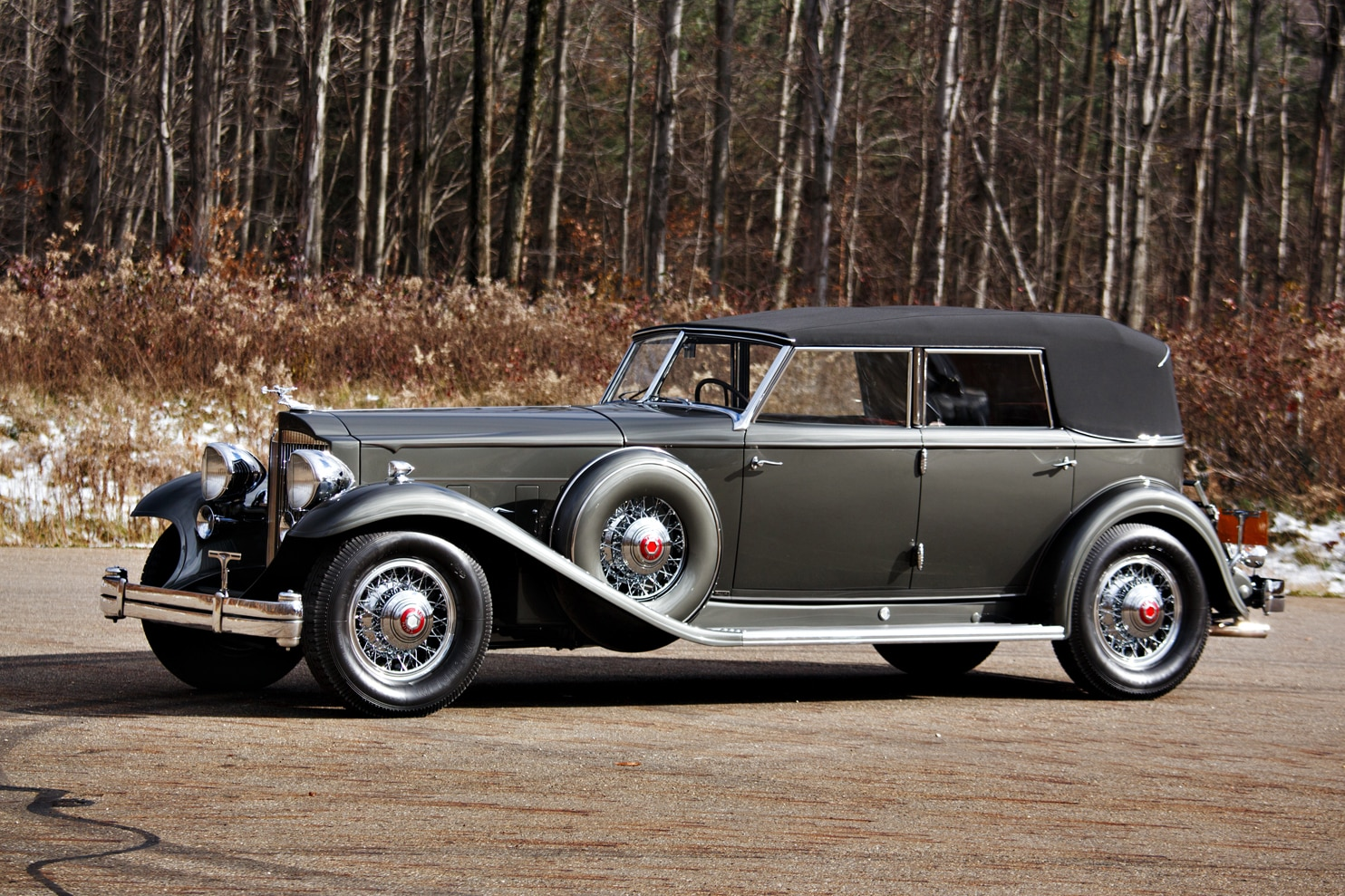 1932 Packard Twin Six - Coupe Roadster - Classic Driver