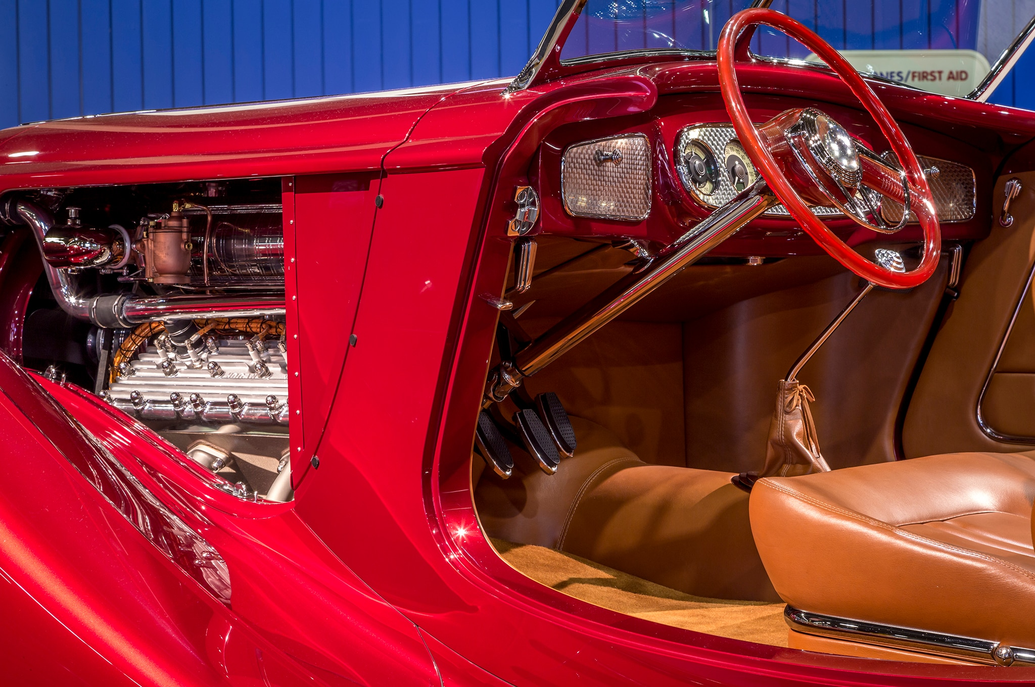 1936 Mulholland Speedster Americas Most Beautiful Roadster Interior