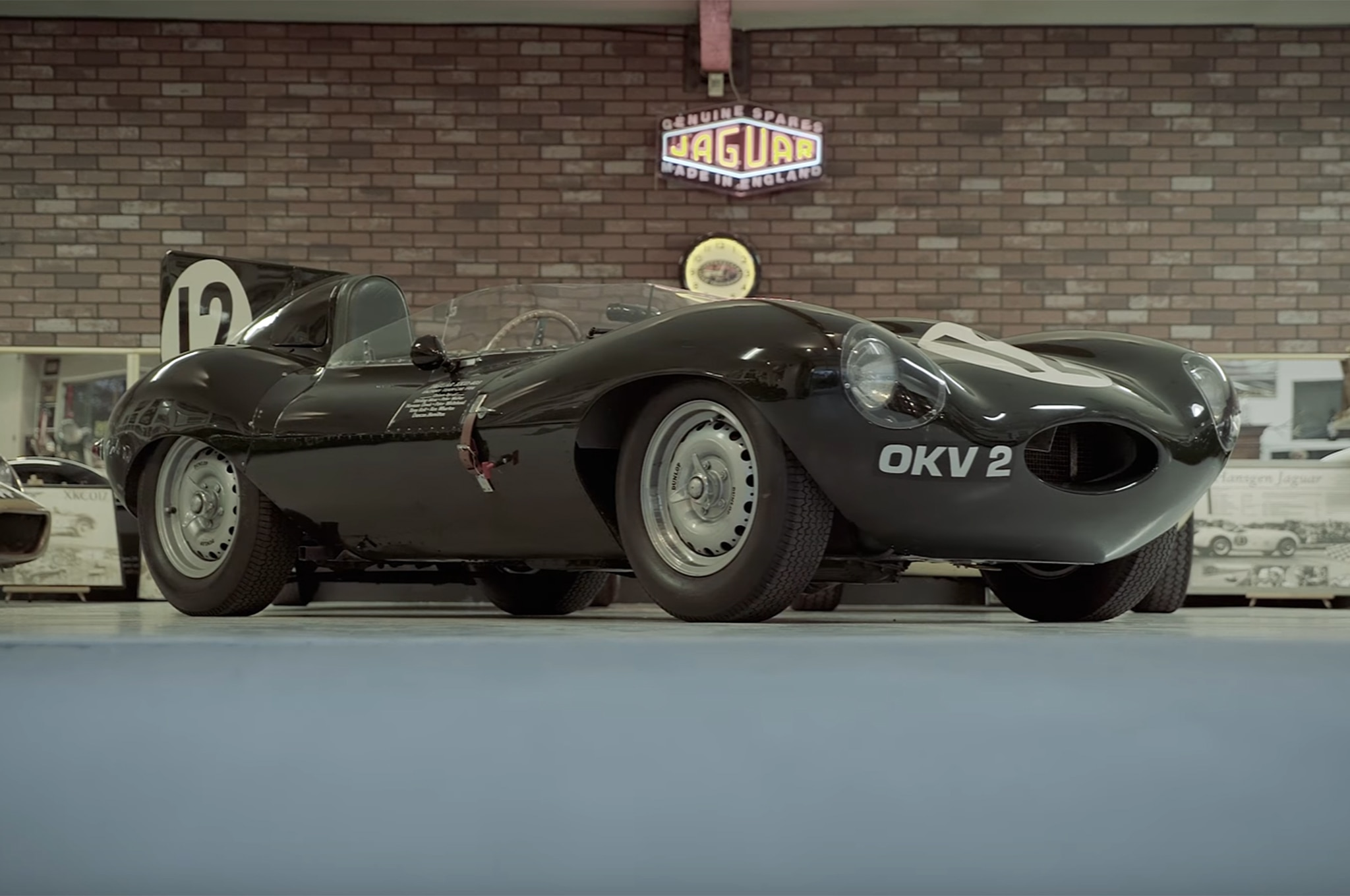 1954 Jaguar D Type Petrolicious