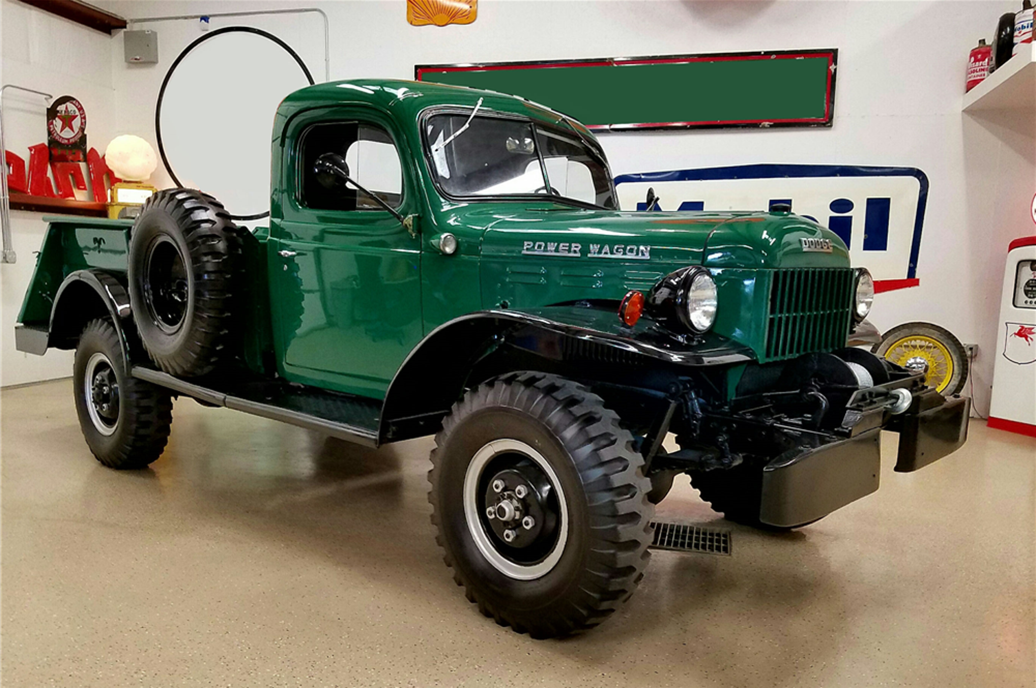 Just Listed: Two Very Different Flavors of Vintage Dodge Power Wagon ...