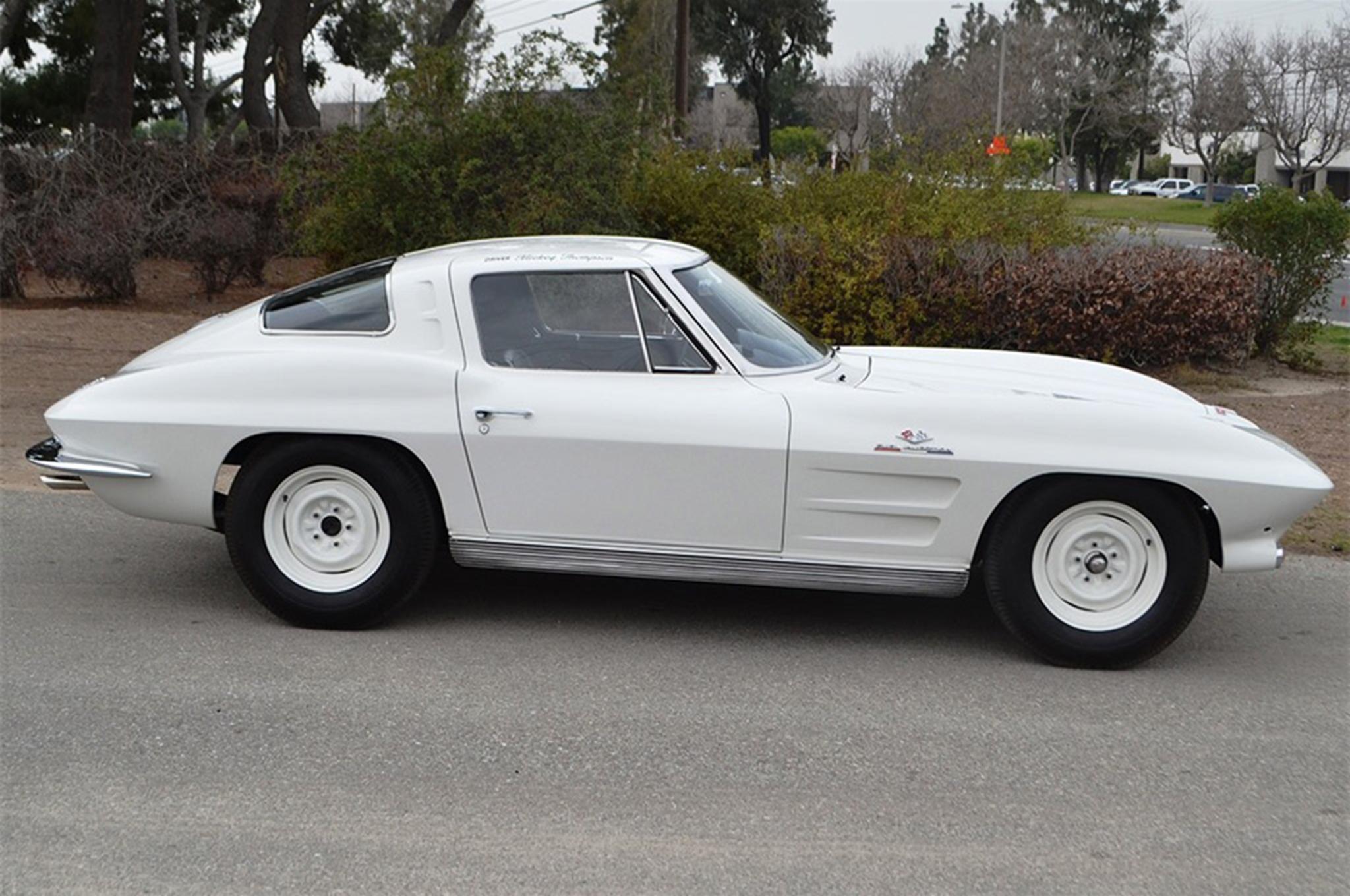 1963 Chevrolet Corvette Z06 Barrett Jackson Side