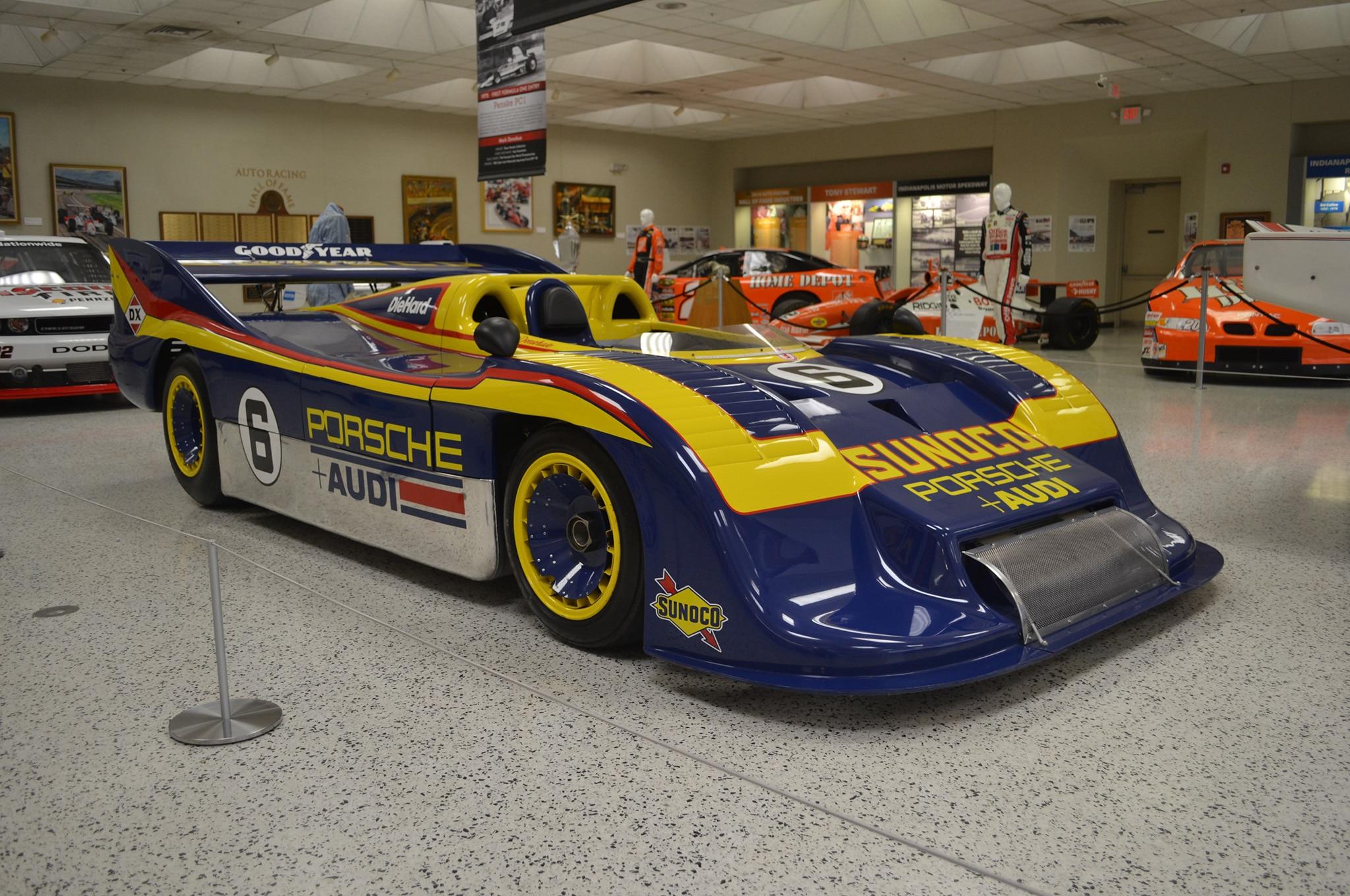 1973 Porsche 917 30 Donohue Indy Motor Speedway Museum