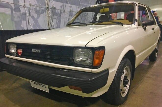 1988 Toyota Tercel front three quarters