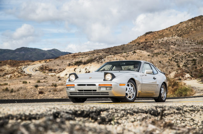 1989 Porsche 944 S2 front three quarter
