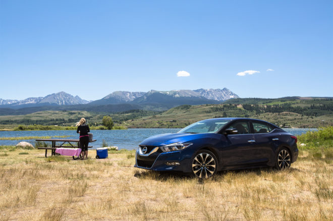 2016 Nissan Maxima SR Four Seasons Cross Country 45