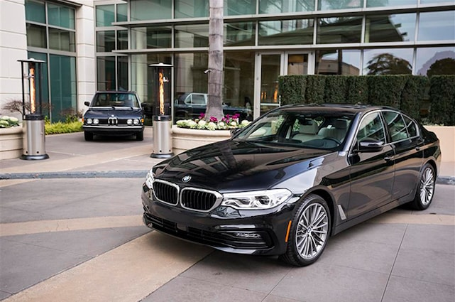 Five Favorite Tech Things About The BMW Series Automobile - Bmw 5 series pictures