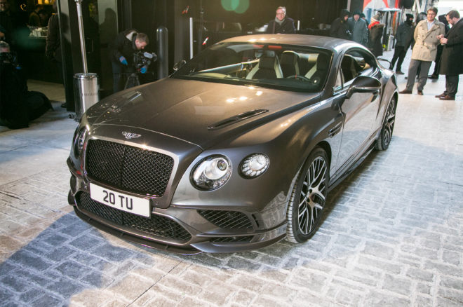 2017 Bentley Continental GT SuperSports Front Three Quarter 02 660x438