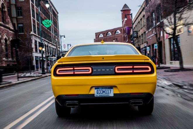 2017 Dodge Challenger GT rear end