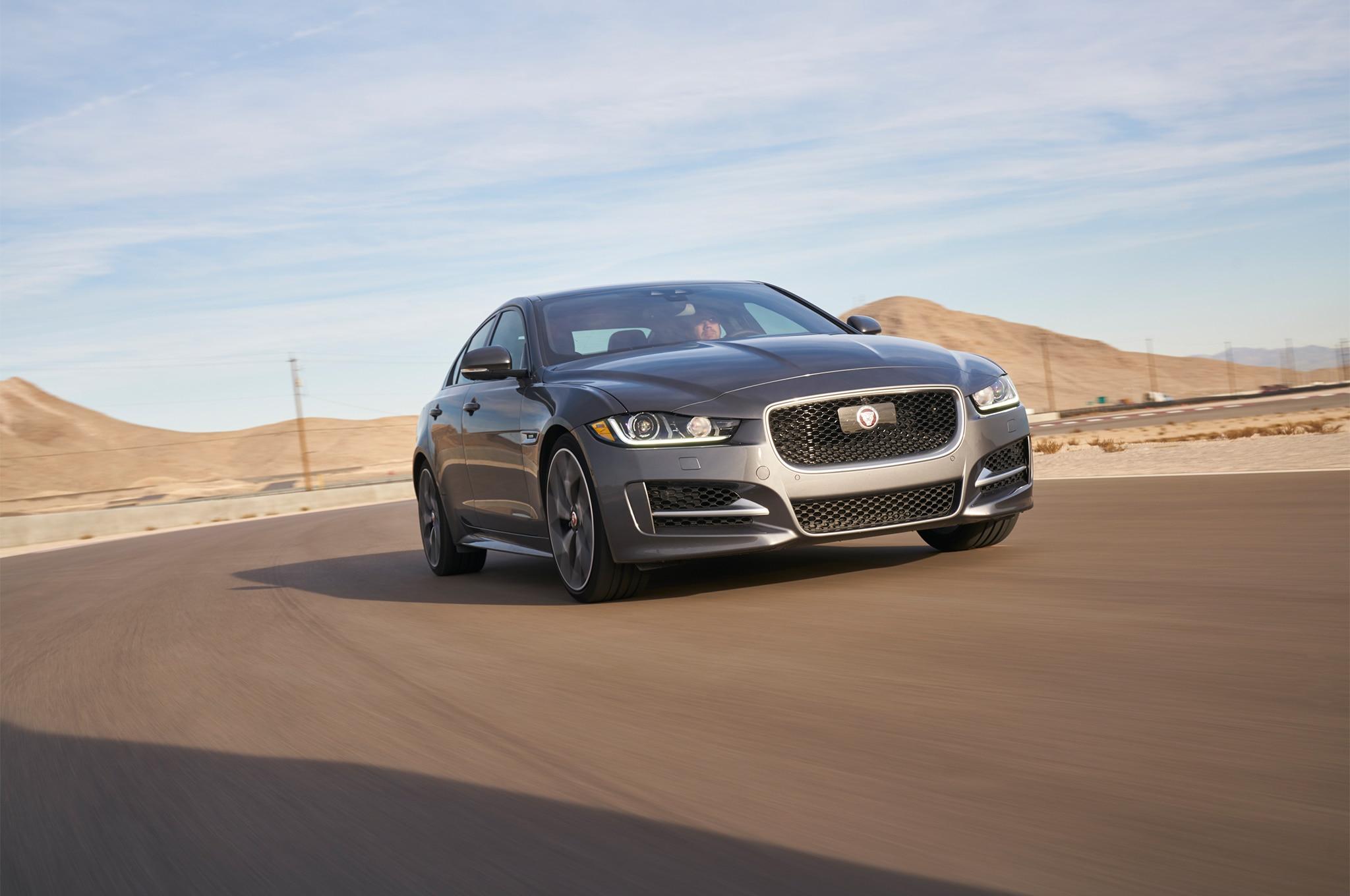 2017 all stars contender jaguar xe automobile magazine. Black Bedroom Furniture Sets. Home Design Ideas