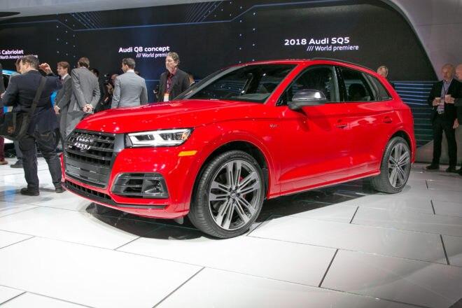 2018 Audi SQ5 Front Three Quarter 660x440