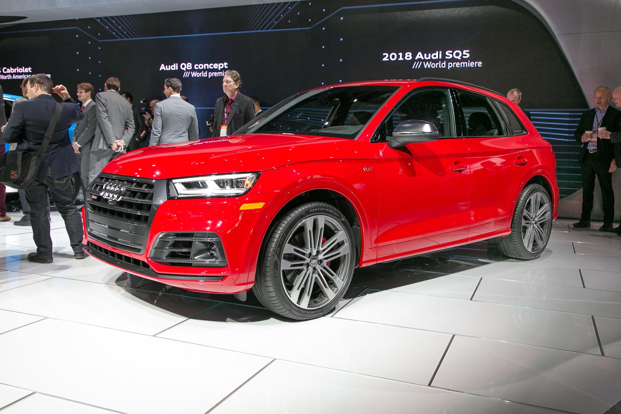 2018 Audi SQ5 Front Three Quarter