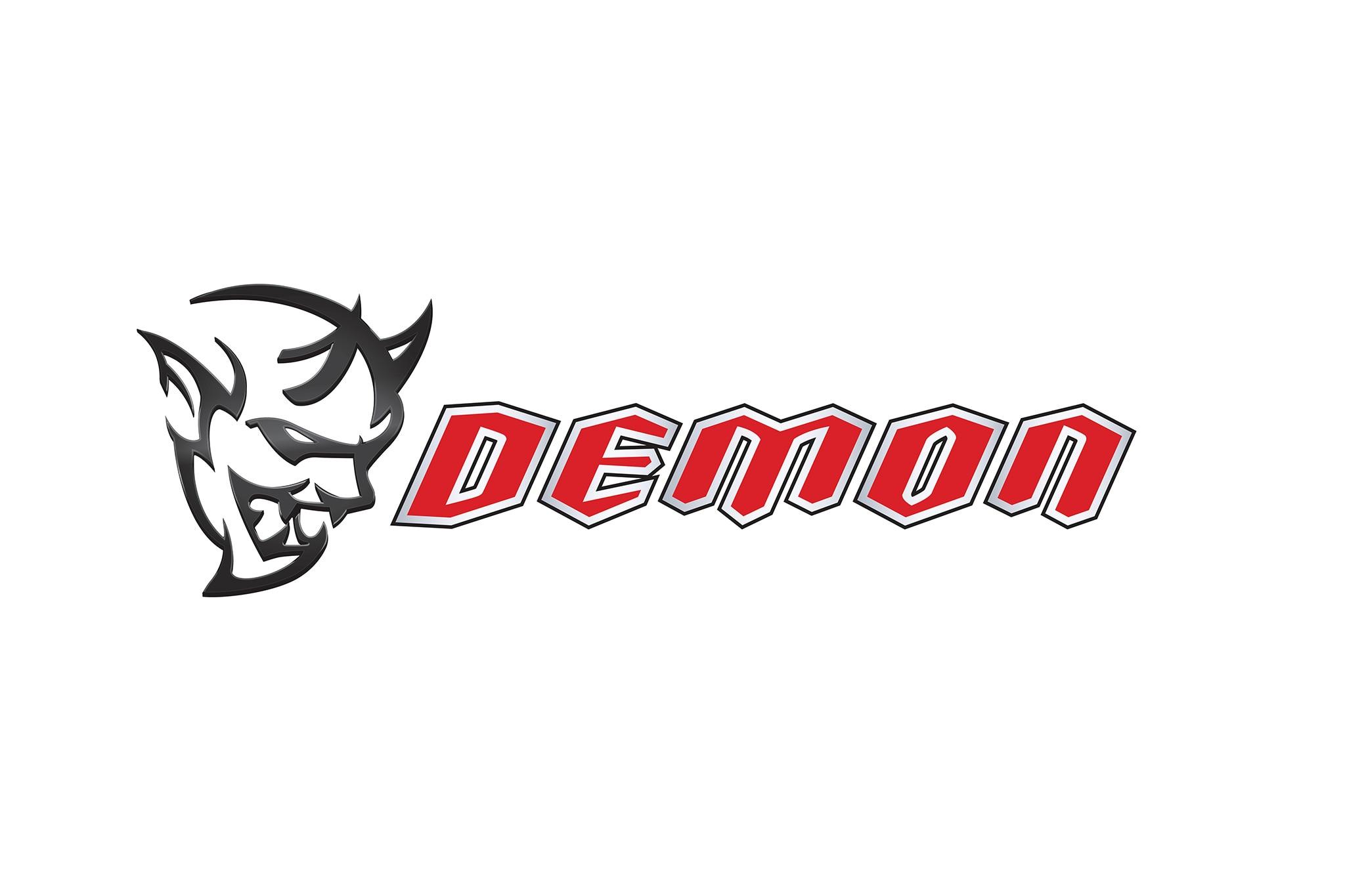 2018 Dodge Challenger SRT Demon Badge Logo