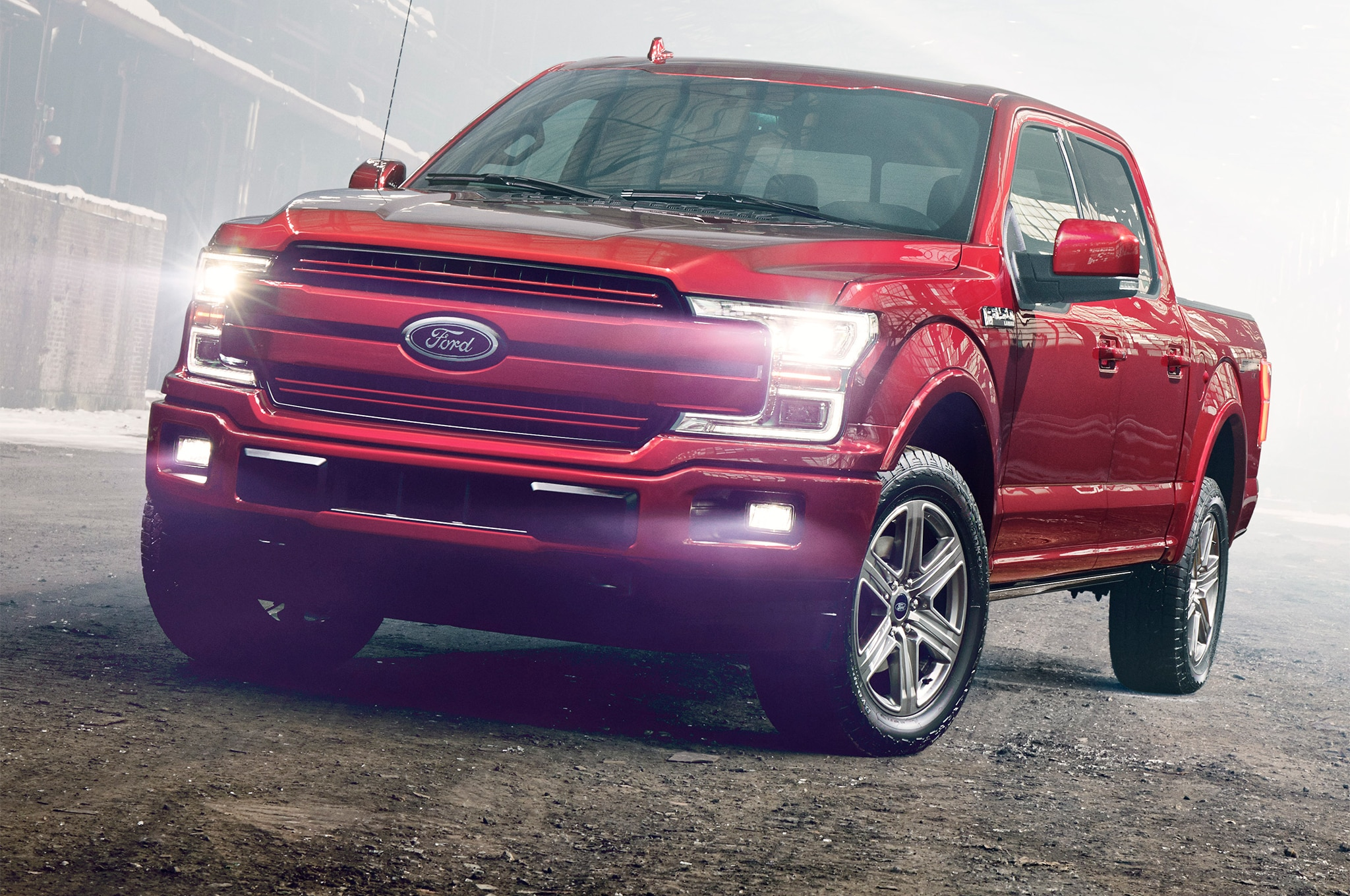 2018 Ford F 150 Front Headlight