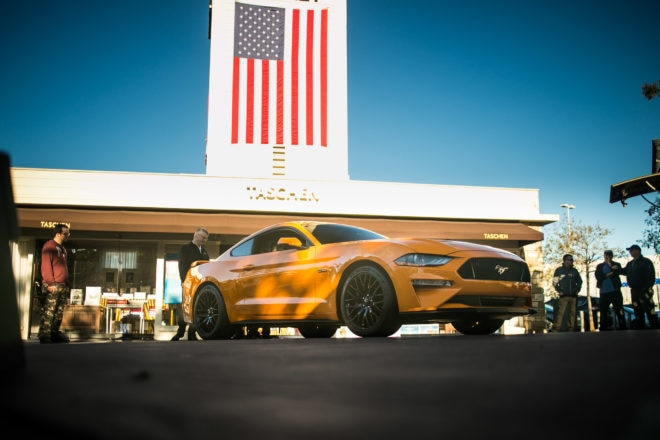 2018 Ford Mustang Front Low Market