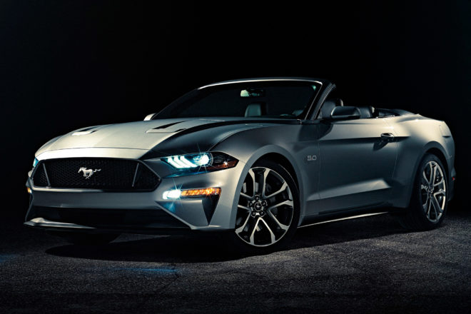 Ford Mustang Convertible First Look: The Blue Oval's Refreshed Droptop