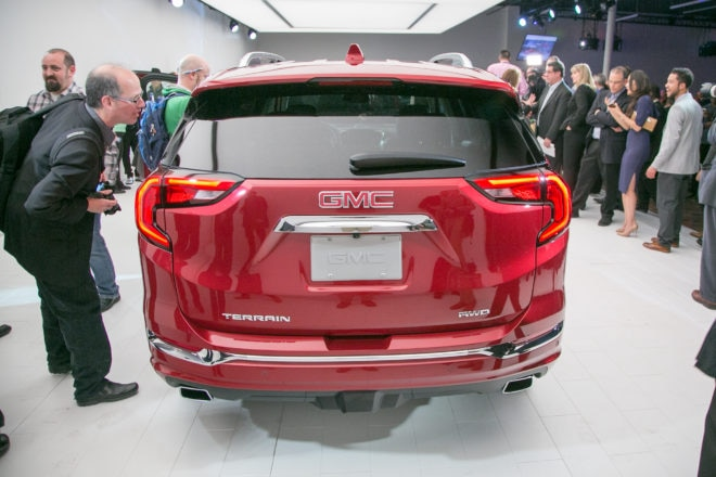 2018 GMC Terrain rear end