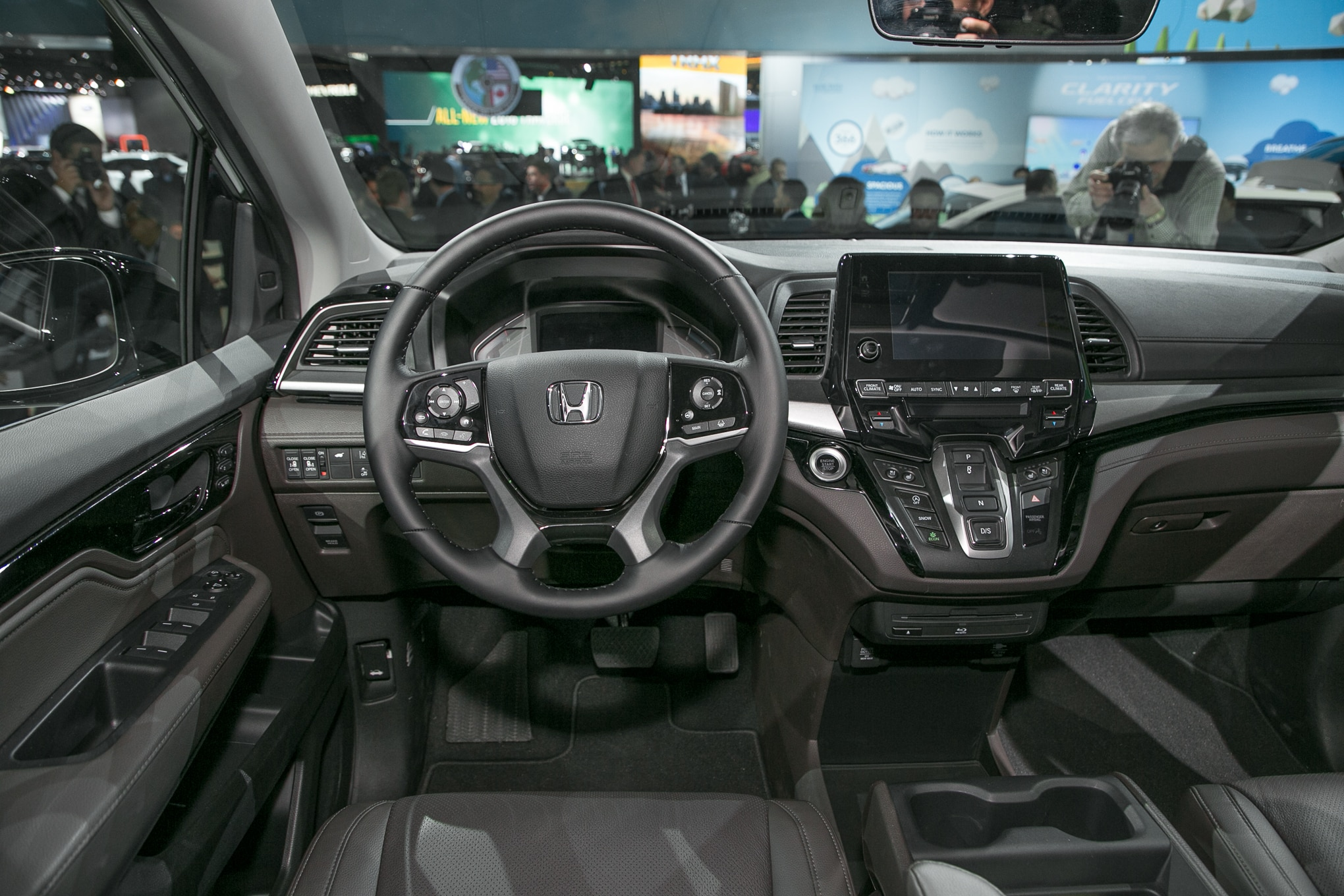 2018 Honda Odyssey First Look Automobile Magazine