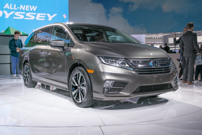 Simple 2018 Honda Odyssey First Look  Automobile Magazine