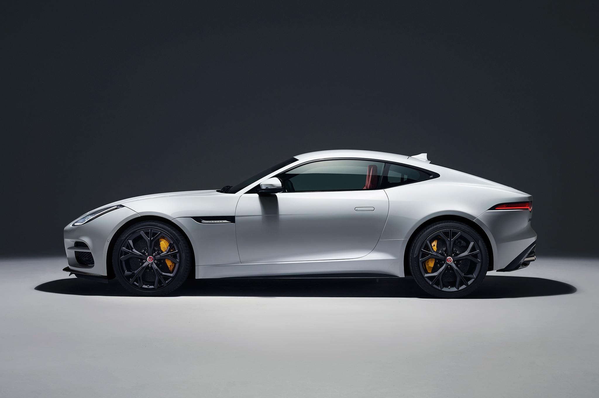 2018 Jaguar F Type R side profile
