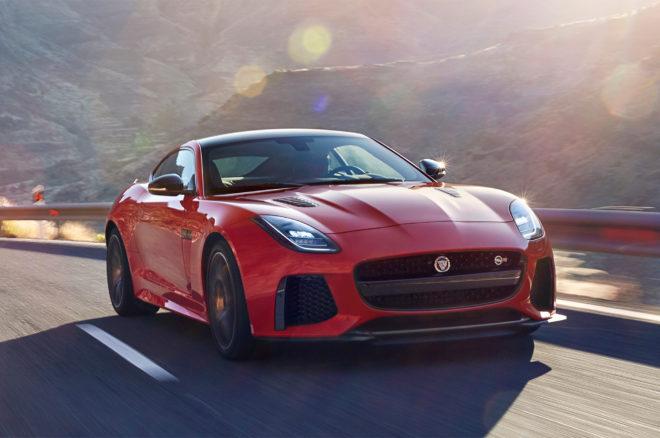 2018 Jaguar F Type Front Three Quarters In Motion 02 1 660x438