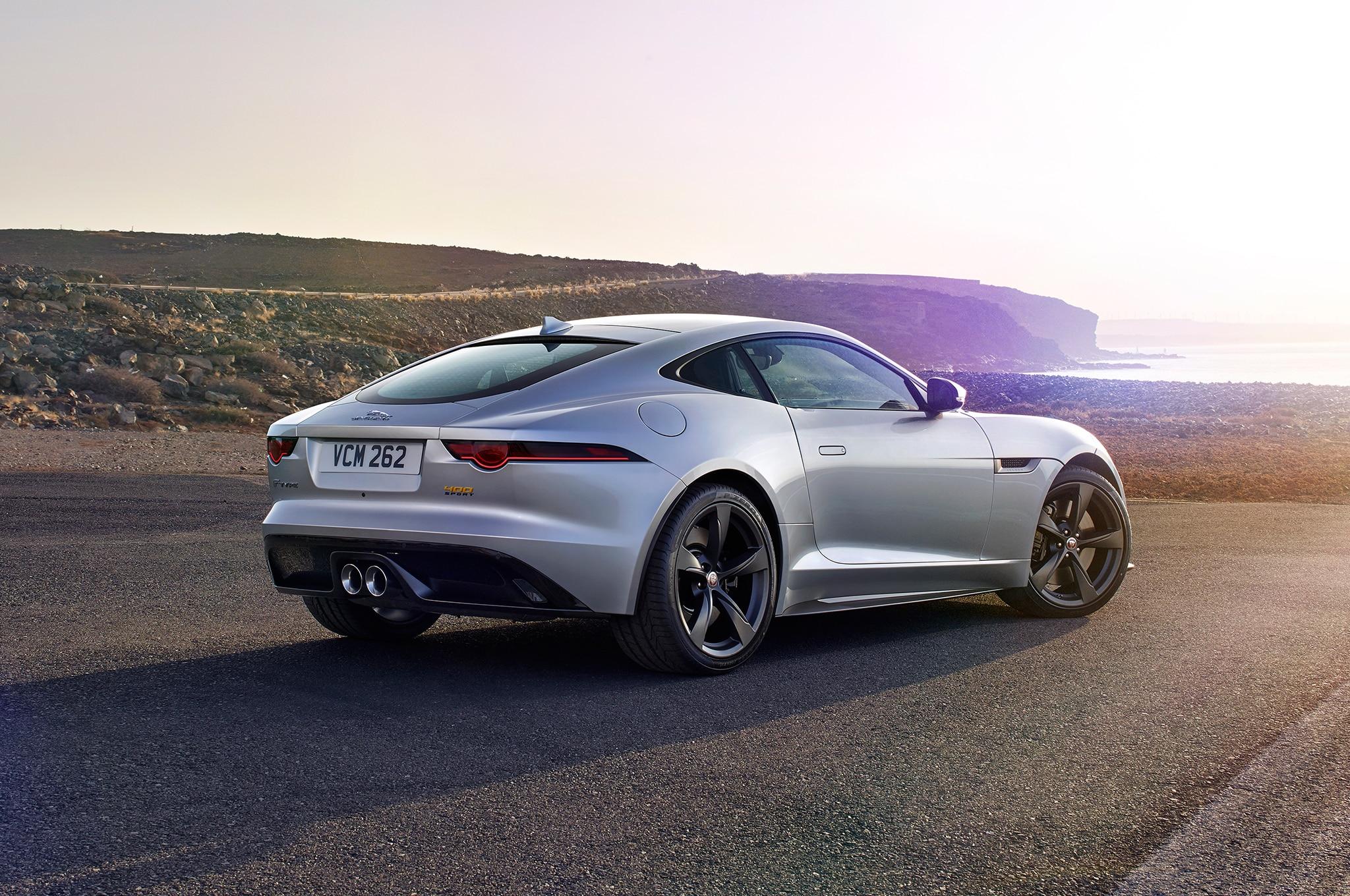 2018 Jaguar F Type Rear Three Quarter 34