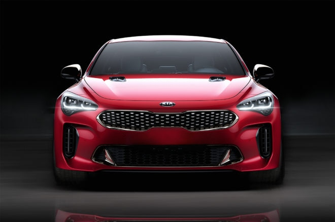2018 Kia Stinger GT front end