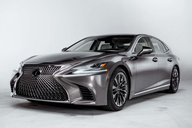 2018 Lexus LS 500 Front Three Quarter 660x440