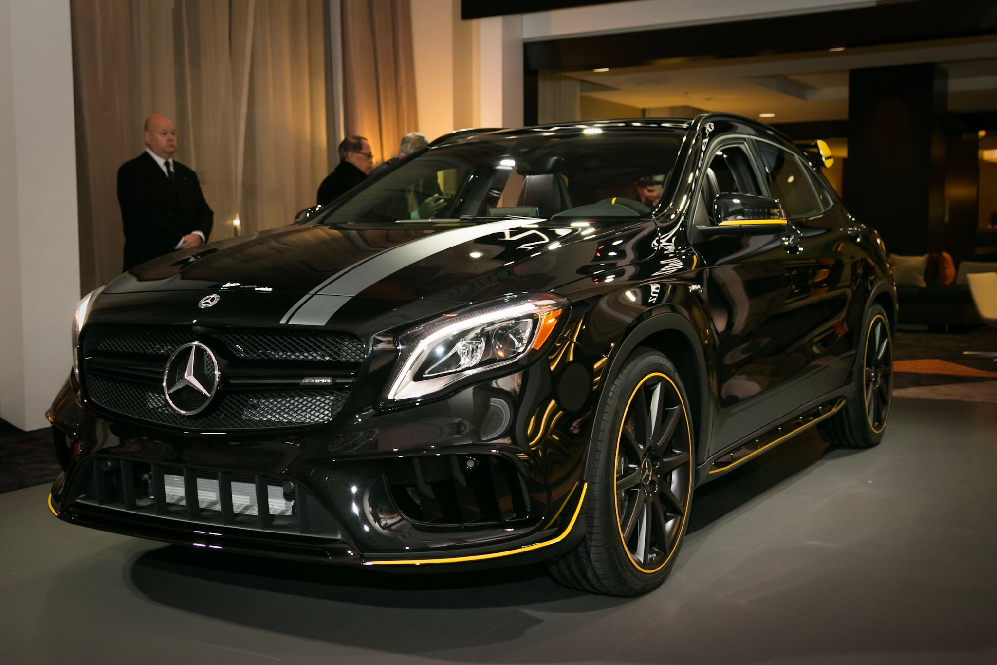 2018 mercedes benz gla class first look automobile magazine for Mercedes benz amg 2018